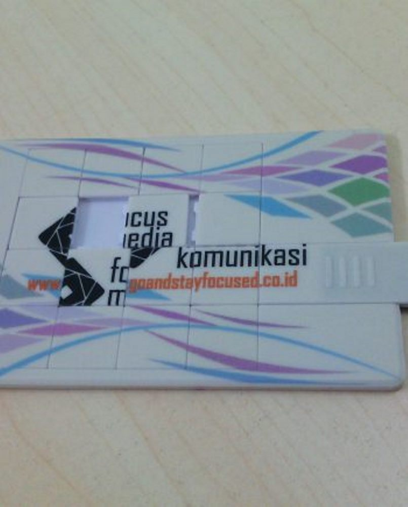 USB Card Model Puzzle