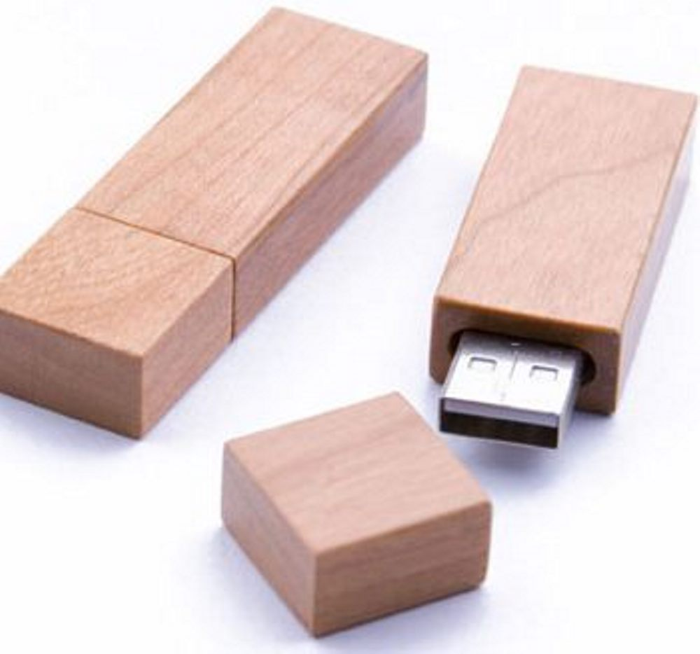 USB Flash Disc Kayu