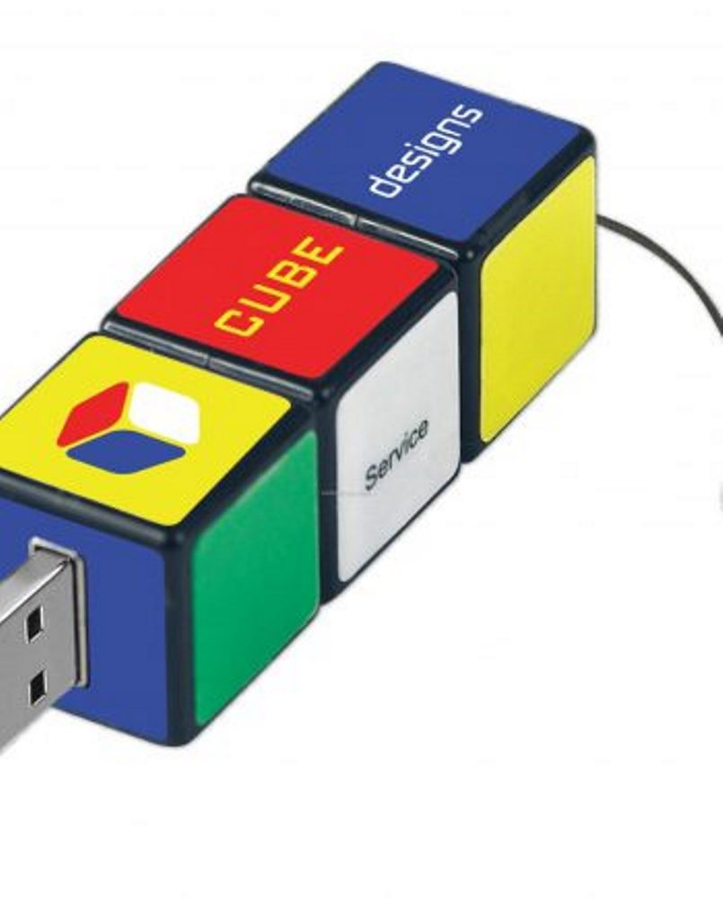 USB Flash Disc Cube 4gb