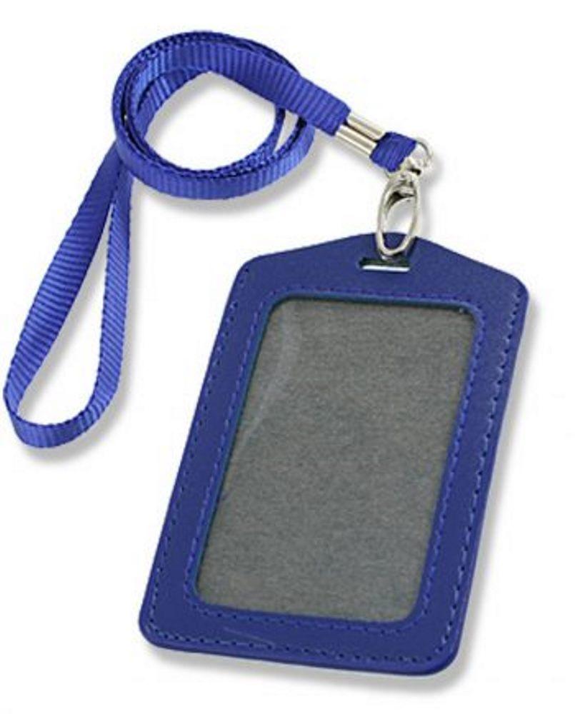 Name Tag Kulit / ID Card Holder Kulit
