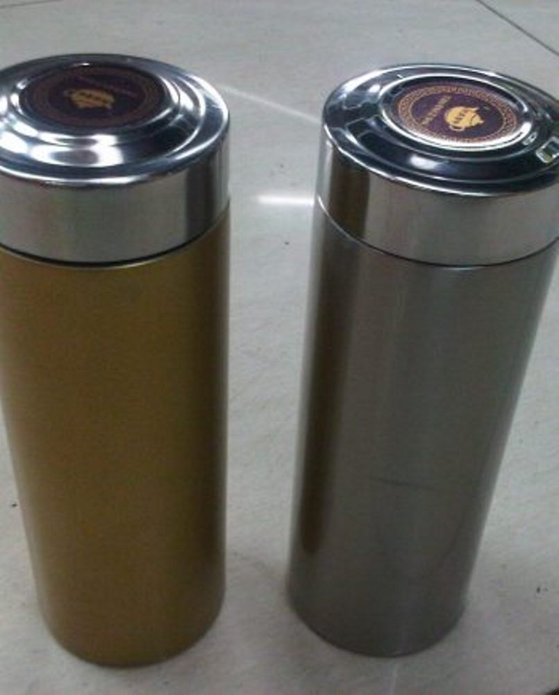 Thermos Gold And Silver
