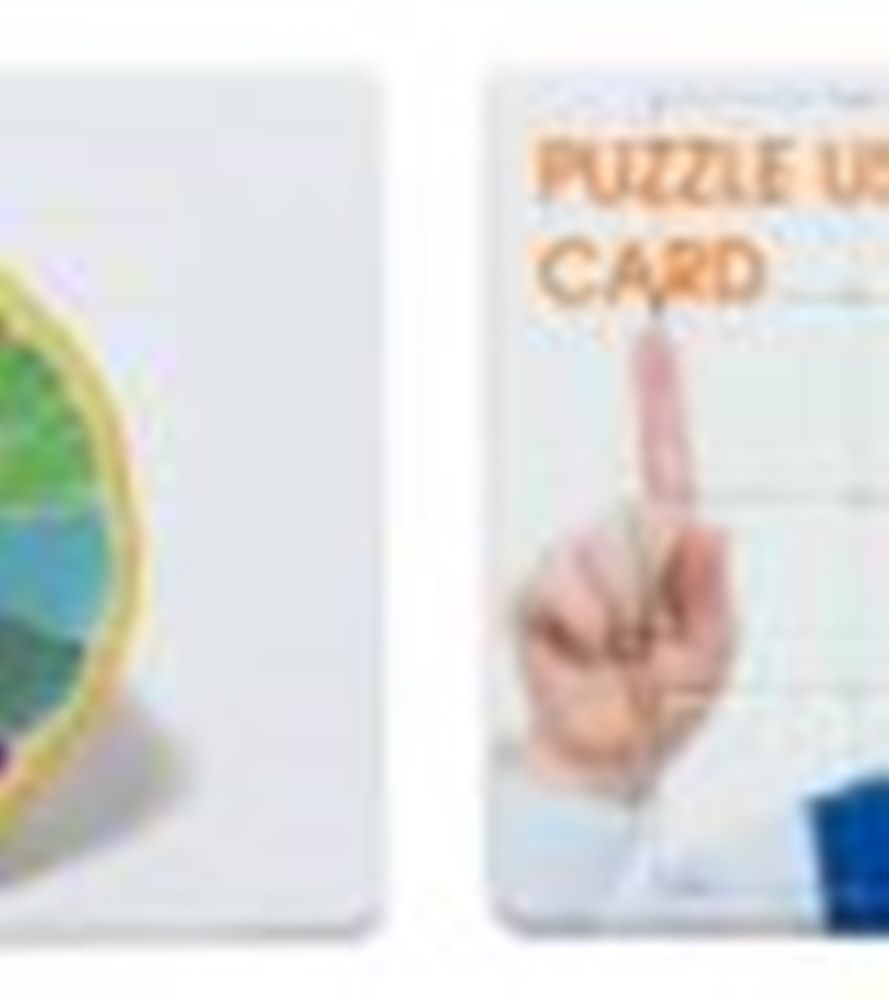 USB Card Model Puzzle 3