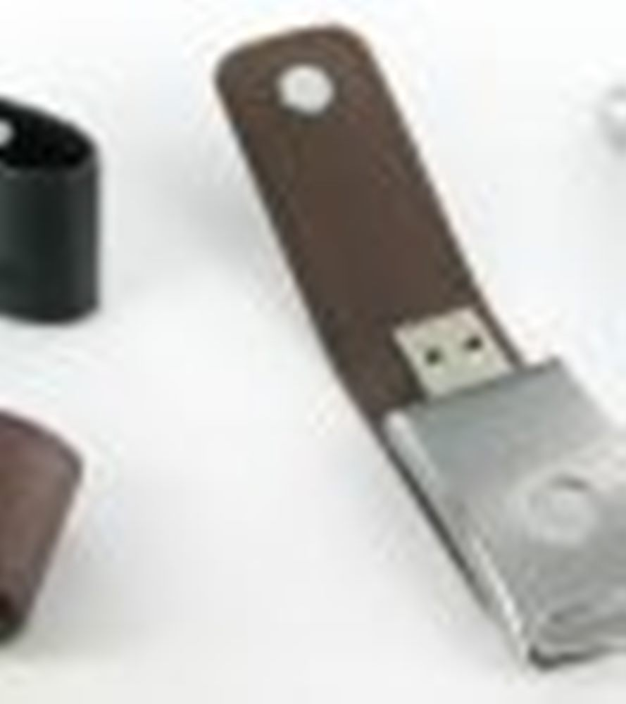 Leather USB Flash Disc model 445 2