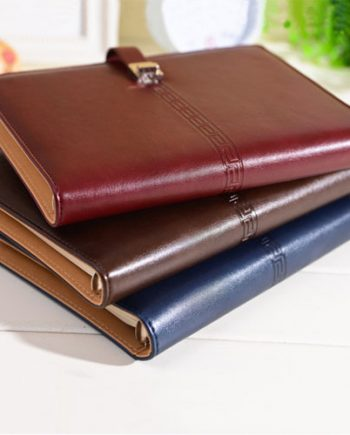 Soft-cover-pu-leather-notebook-diary-book-creative-office-stationery-6-ring-binder-A5-planner-agenda